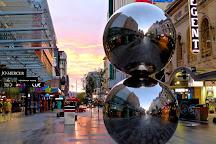 The Mall's Balls Statue, Adelaide, Australia