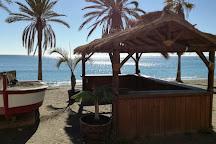 Playa de La Malagueta, Malaga, Spain