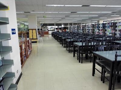 ห้องสมุด มหาวิทยาลัยหัวเฉียวเฉลิมพระเกียรติ