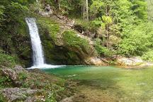 Slap Grmečica, Bohinjska Bistrica, Slovenia