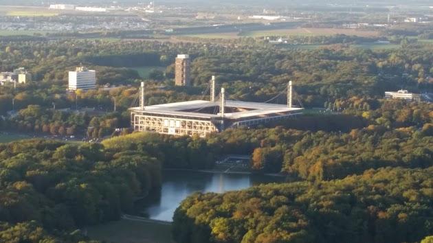Rundflug Phantasialand, Rhein Energie Stadion, Dom, Flughafen