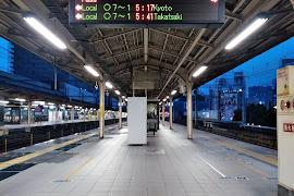 Железнодорожная станция  Sannomiya(Port Liner)
