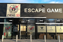 ZONE 53 Escape Game, Laval, France