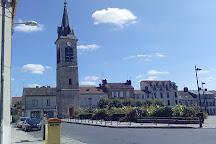 Clocher Saint Barthelemy, Melun, France