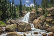 Alberta Falls, Rocky Mountain National Park, United States