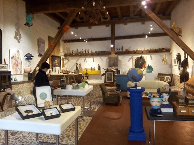 Galerie/Café la Ligne Bleue
