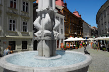 Hercules Fountain, Ljubljana, Slovenia