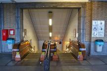 St. Anna's Tunnel / Pedestrians' Tunnel, Antwerp, Belgium