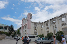 Notre Dame Cathedral Ruins, Port-au-Prince, Haiti
