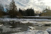 Boulognerskogen City Park, Gavle, Sweden