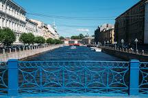 Blue Bridge, St. Petersburg, Russia