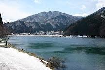 Lake Nakatsuna, Omachi, Japan