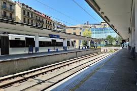 Железнодорожная станция  Amara Donostia