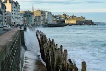 Plage du Sillon, Saint-Malo, France