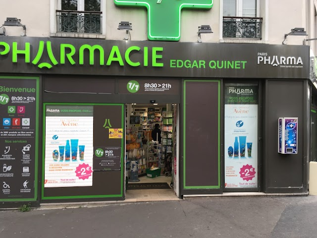 Aprium Pharmacie Edgar Quinet