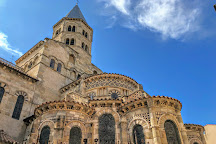 Basilica of Notre-Dame du Port, Clermont-Ferrand, France