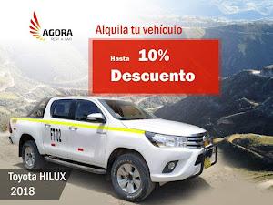 AGORA RENT A CAR ILO. Alquiler de vehículos en Ilo, alquiler de camionetas en Ilo, RENT A CAR. 6