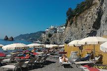 Spiaggia della Crestarella, Vietri sul Mare, Italy