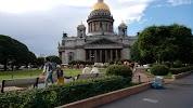 Ротонда, набережная реки Мойки на фото Санкт-Петербурга