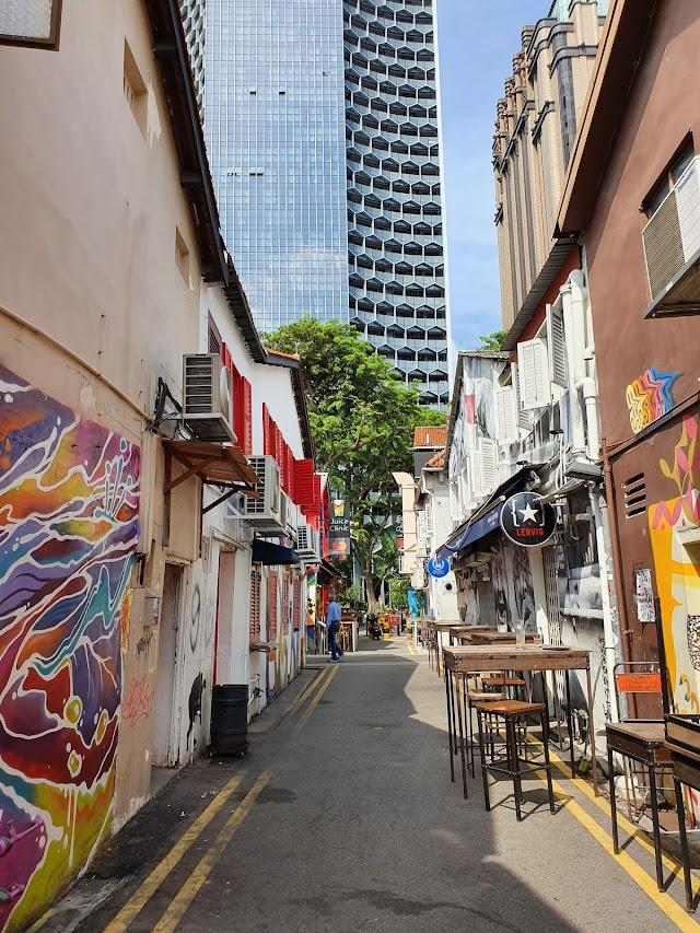Haji Lane cool gata café barer