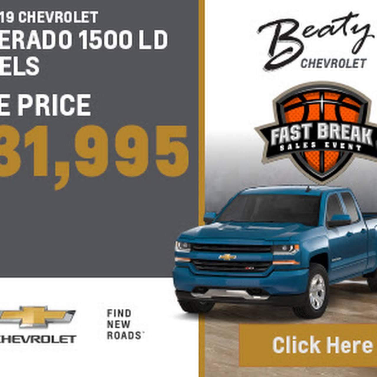 Beaty Chevrolet Chevrolet Dealer In Knoxville