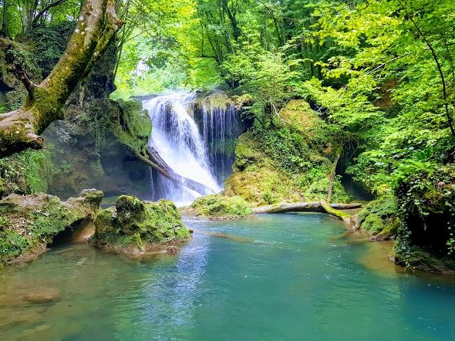 Waterfall At Văioaga