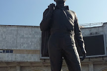 Monument to Chingiz Aitmatov, Bishkek, Kyrgyzstan