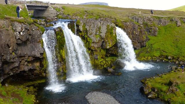 Kirkjasfoss Waterfall