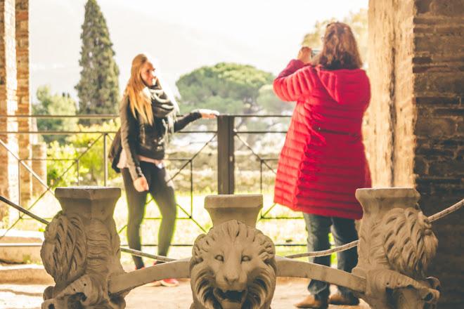 Casa Dei Quadretti Teatrali o Casca Longus - Pompei, Pompeii, Italy
