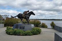 Black Caviar Statue, Nagambie, Australia