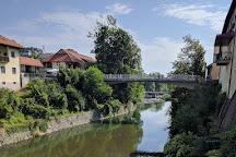 Capuchin Bridge, Škofja Loka, Slovenia