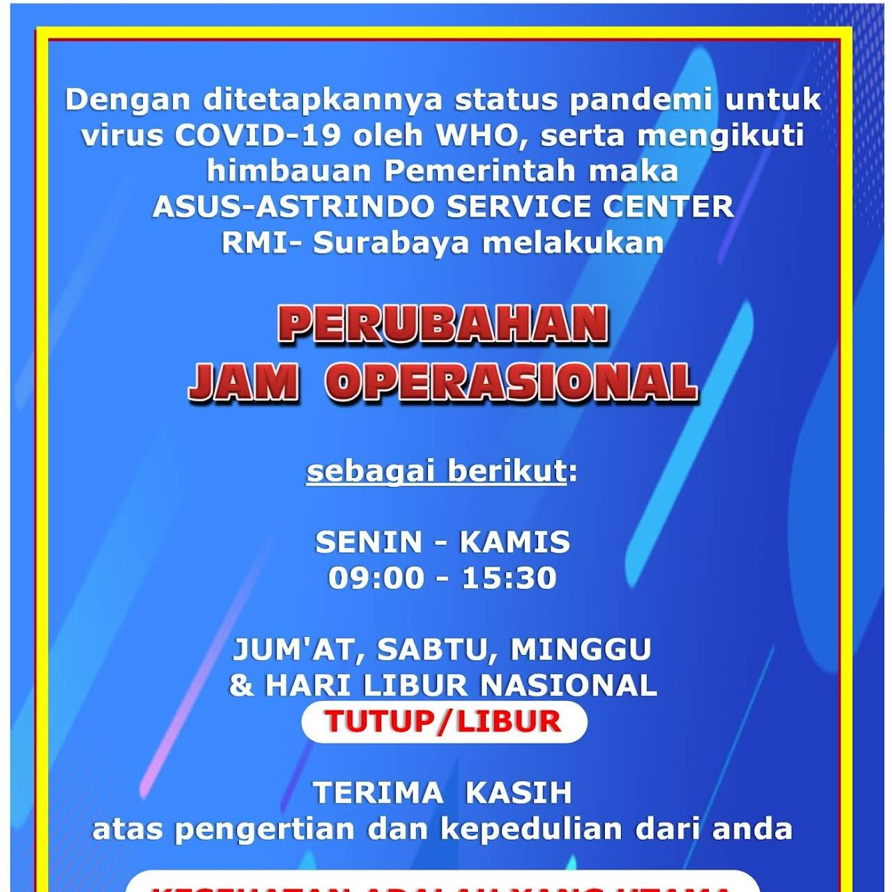 Asus Service Center Surabaya Rmi Jasa Reparasi Komputer