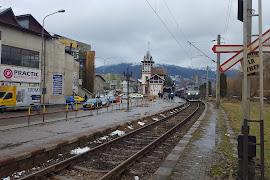 Железнодорожная станция  Vatra Dornei