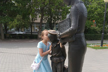 Monument to the First Teacher, Volgograd, Russia