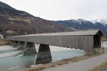 Alte Rheinbrucke, Vaduz, Liechtenstein