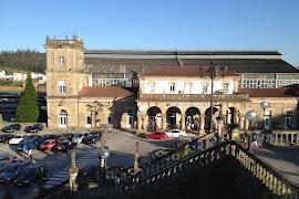 Железнодорожная станция   Santiago de Compostela    Train Staion