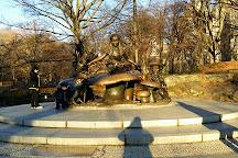 Alice in Wonderland Statue, New York City, United States