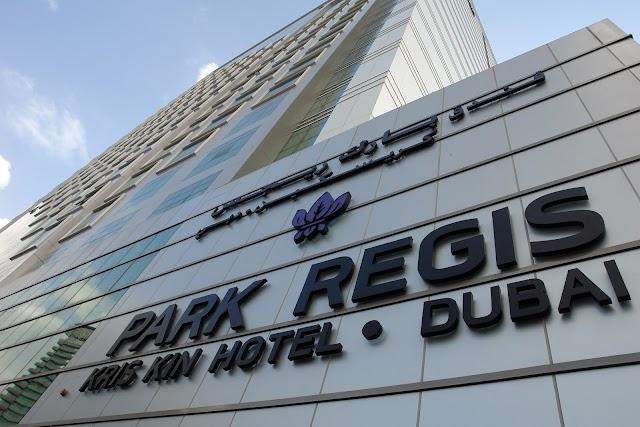 PARK REGIS KRIS KIN HOTEL DUBAI UAE