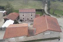 Le chateau d'Essalois, Chambles, France