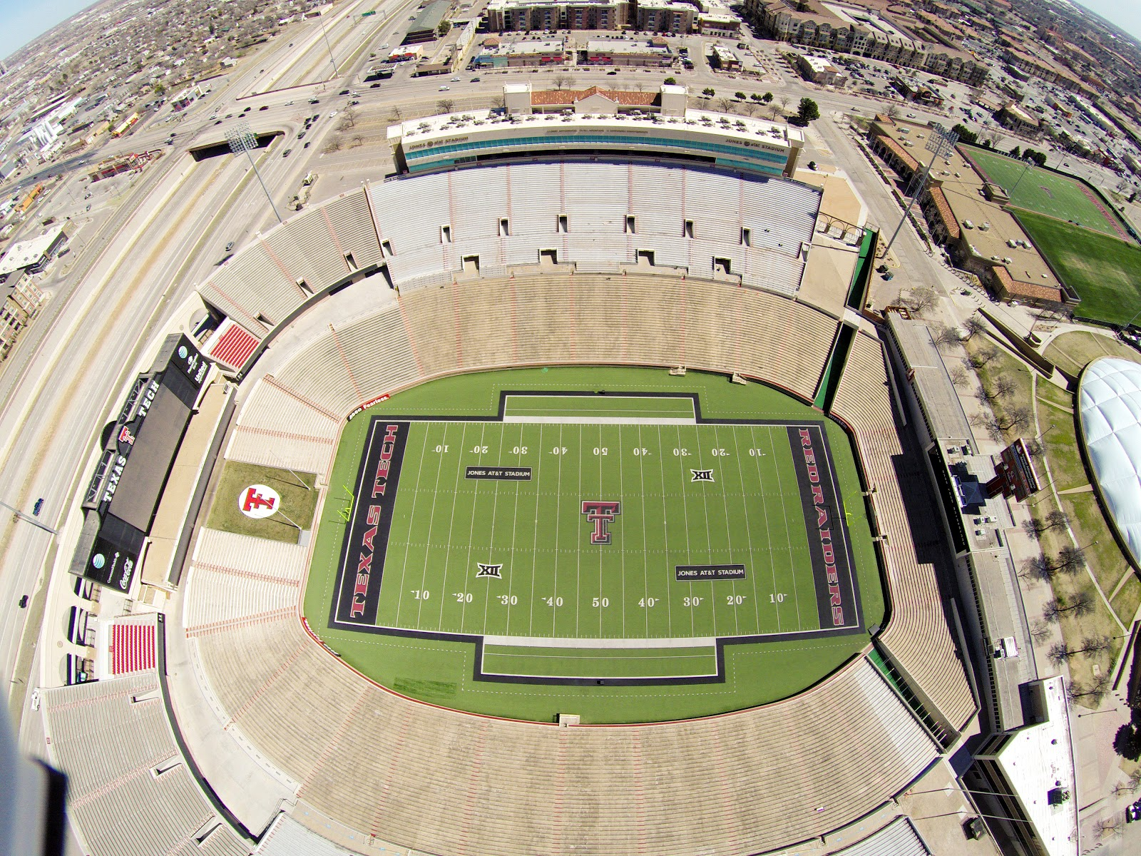 Visit Jones At T Stadium Texas Tech University On Your Trip To Lubbock