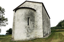 Chiesa di San Pietro (Chiesa Rossa), Castel San Pietro, Switzerland
