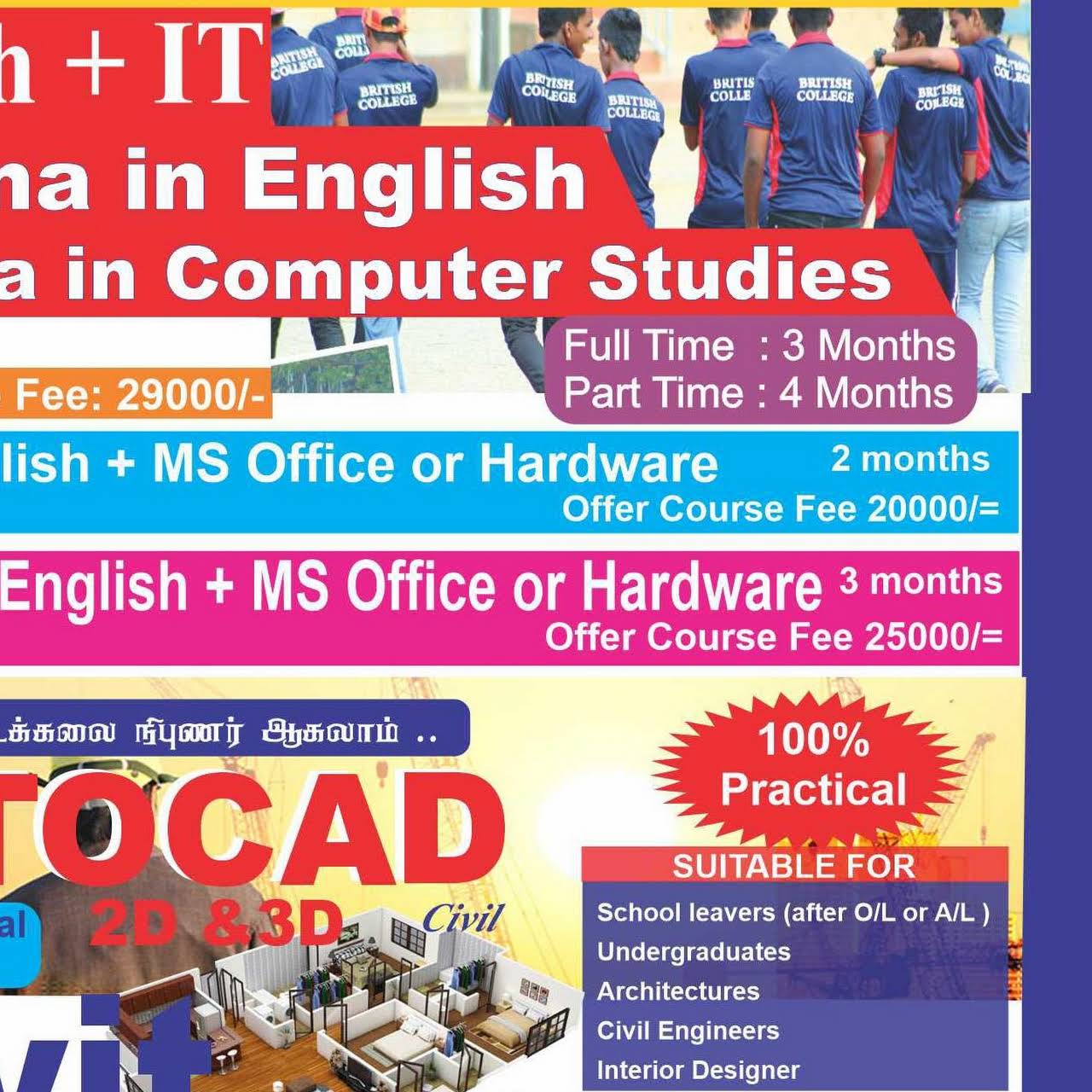 British College Educational Institution In Kandy