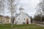 Церковь Власия, Большая Власьевская улица, дом 3 на фото Великого Новгорода