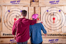 Sweet Axe Throwing Co., Auckland, New Zealand
