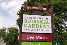 Birmingham Botanical Gardens and Glasshouses, Birmingham, United Kingdom