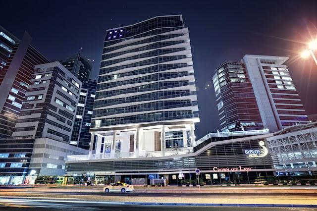 CROWN & LION - BYBLOS HOTEL DUBAI UAE