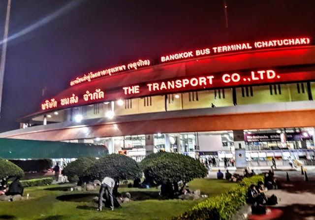 Bangkok Bus Terminal Chatuchak