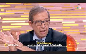 Maître Eric de Caumont - Avocat Permis de Conduire & Droit Routier