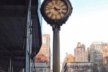 Tiffany Street Clock at 5th Ave., New York City, United States