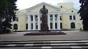 Бюст К.К.Рокоссовского на фото Великих Лук